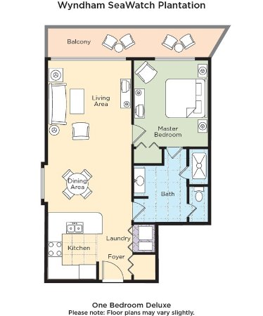 Wyndham Seawatch Plantation Floor Plan Picture Of Wyndham Seawatch Plantation Myrtle Beach