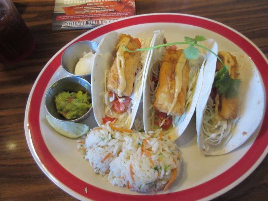 My fish tacos picture of 99 restaurants williston for Fish taco restaurant