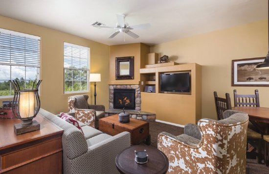 Overgaard, AZ: WorldMark Bison Ranch Two_Bedroom Living_Area