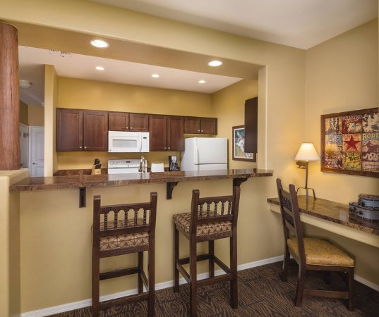 Overgaard, AZ: WorldMark Bison Ranch Two_Bedroom_Condo_Kitchen