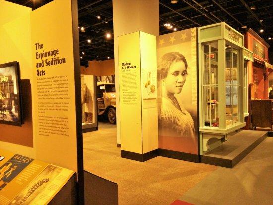 Minnesota History Center : 特別展(第一次世界大戦とアメリカ)