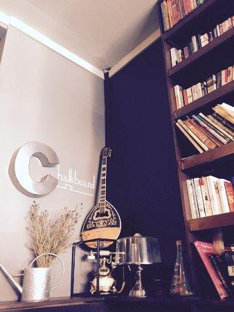 Gordon, Australia: Chalkboard cafe