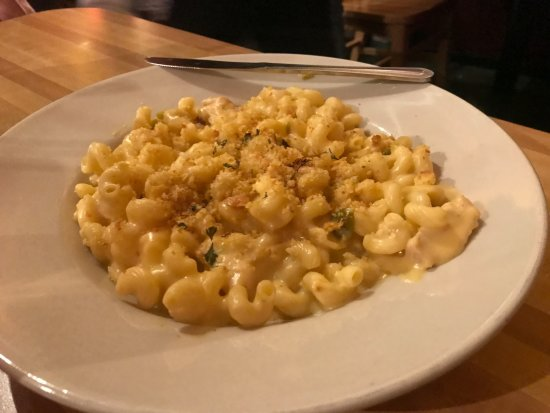 Cedar Crest, Nuovo Messico: Mac & Cheese with a hint of Hatch green chiles