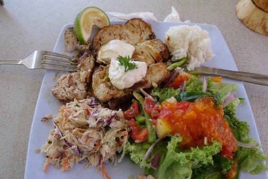 The Mooring: Mahi Mahi Fish Salad