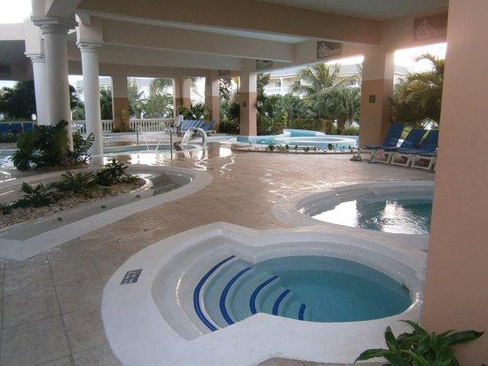 Grand Palladium Jamaica Resort & Spa: Circuitos de agua del SPA