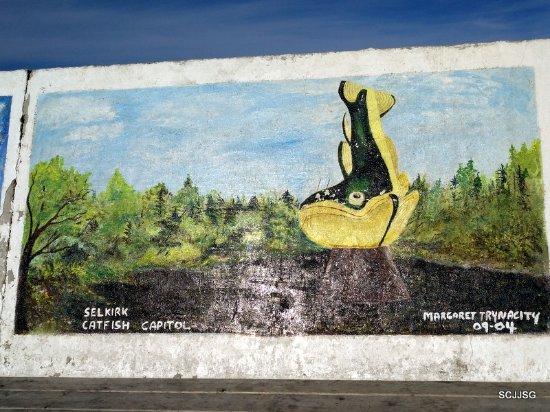Selkirk, Canadá: Gimli Seawall Gallery
