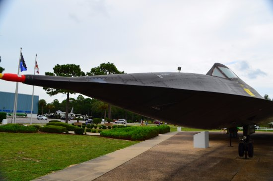 Air Force Armament Museum: Stealth bomber if I am not mistaken