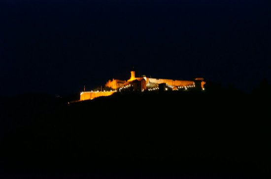 Вид на ночной Ландскрон