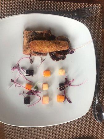 De Kloof Restaurant: Braised pork belly