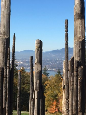 Burnaby, Kanada: This is the park's log