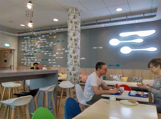 Ibis Budget Warszawa Centrum: Breakfast room