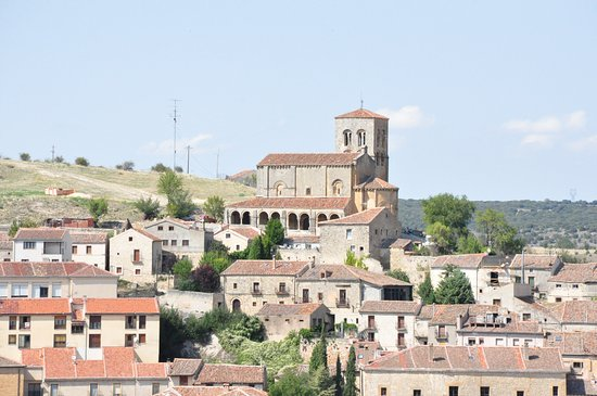 Sepulveda, Spain: View of Mirador.