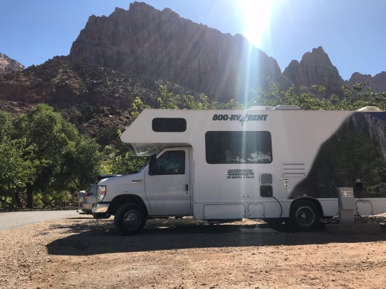 Zion Canyon Campground: plaats