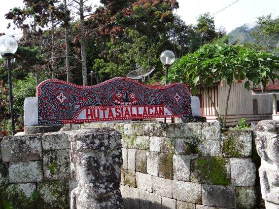 Ambarita, Indonesia: de ingang