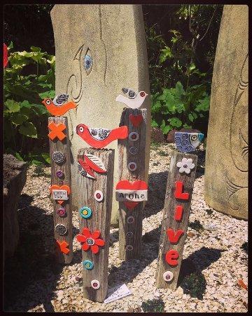 Whananaki, New Zealand: Art!