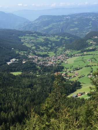 Val Gardena: Una veduta