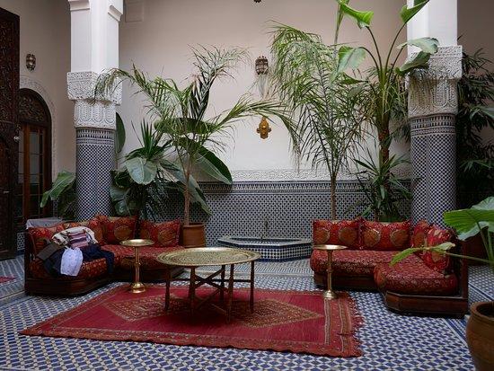 Riad Tayba: espace détente