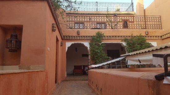 Riad Tayba: salon terrasse abrité