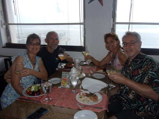 The Lighthouse Restaurant : Sunday brunch very nice food greatall different kinds salads deserts