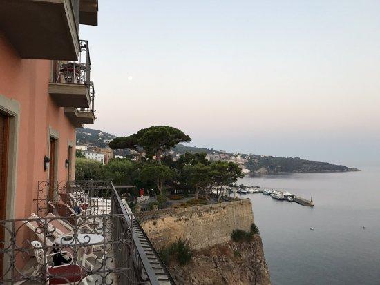 Grand Hotel Ambasciatori: View toward the marina from Room 504.