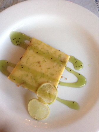 Sol Ananda: lemon tart / tarta de limon