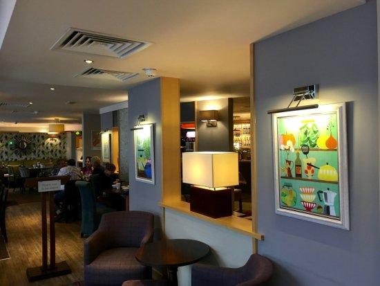 Premier Inn Chester City Centre Hotel: ENTRANCE TO 'THYME' AT THE PREMIER INN CHESTER