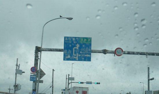 Tokushima Prefecture, Japan: 吉野川を渡った所