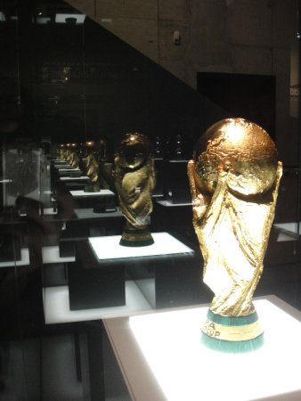 German Football Museum The Trophy Room