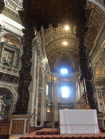 Baldacchino di San Pietro, di Bernini : Obra maestra Bernini y el Barroco