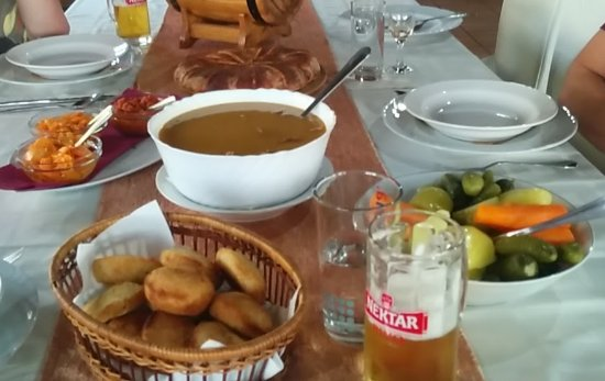 Gradiska, Bosnia-Herzegovina: great Bosnien bean stew