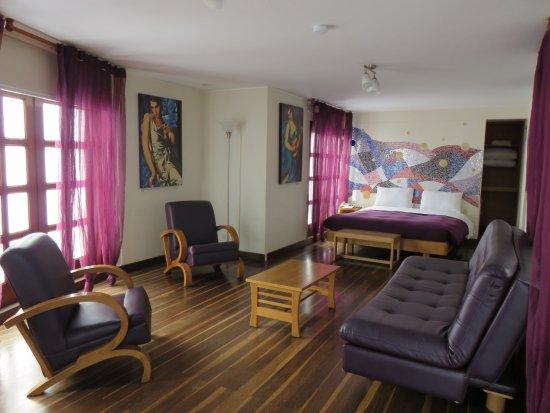Hotel Casa Deco: Suite Morada N°403