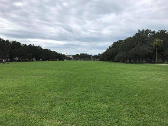 Forsyth Park: Gramado