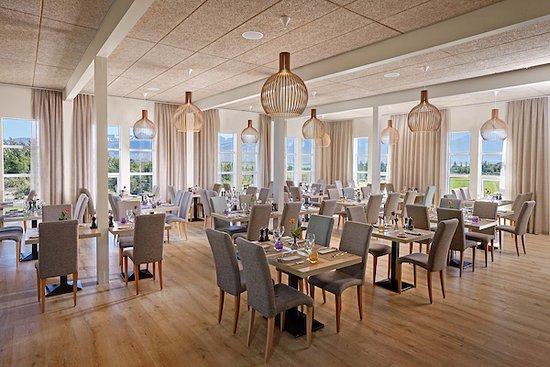 Borgarnes, Iceland: Dining room