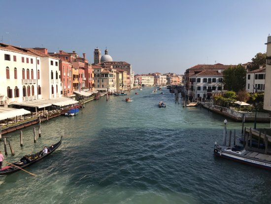 view from hotel carlton grand canal venice picture of. Black Bedroom Furniture Sets. Home Design Ideas