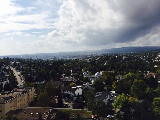 NH Wiesbaden: Blick vom Penthouse
