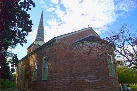 Edenton, NC: Back of St Paul's Episcopal church