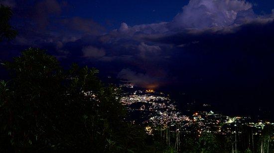 Rumtek, Indien: Blick nach Gangtok