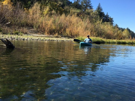 River's Edge: Kayaking down the Russian River