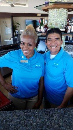 Bucuti & Tara Beach Resort Aruba: Karen and Juan Carlos, just fantastic people!