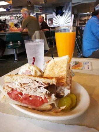 Sandwich pintade