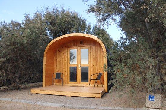 Bungalow de madera photo de camping montana roja santa - Fotos de bungalows de madera ...