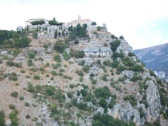 Gourdon, France: High upon the mountain with views to the Mediterrane