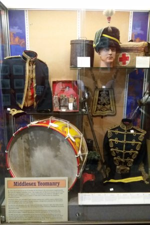 Royal Signals Museum: Middlesex Yeomanry, one of Britain's oldest regiments.