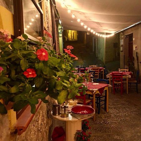 Collesano, Italy: dehors estivo