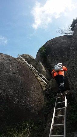 Negeri Sembilan, Malaysia: tangga yang akan di lalui menuju summit