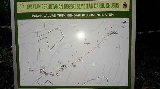 Negeri Sembilan, Malaysia: peta laluan