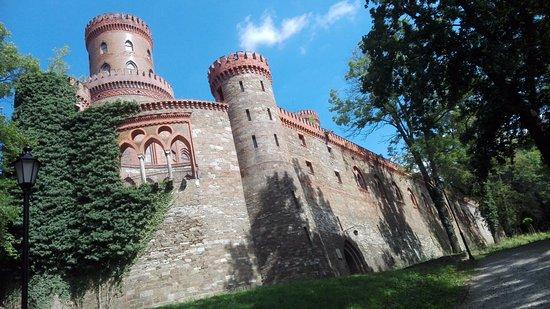 Kamieniec Ząbkowicki, Polska: Deel van het kasteel