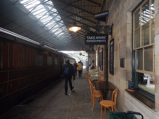 North Yorkshire Moors Railway: Pickering station