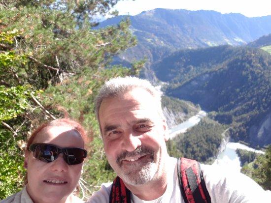 """Aussichtsplattform Il Spir Conn: Le Canyon """"Suisse"""""""