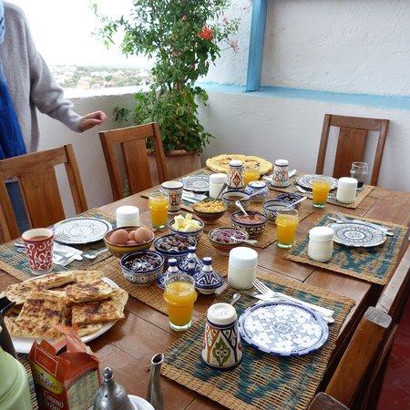 Bhalil, Maroko: le petit déjeuner